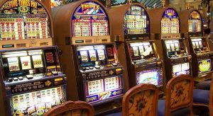 five empty slot machines on the casino 300x164 - five empty slot machines on the casino